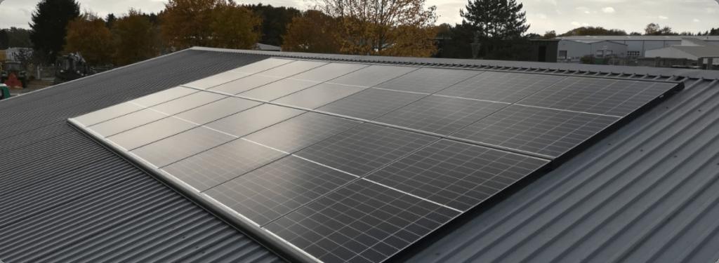 Solaranlage gewerblich 9kwp