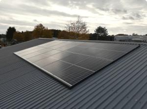 Solaranlage gewerblich 9kwp 5