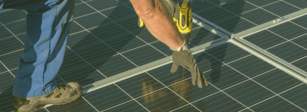 Karriere als Solarmonteur