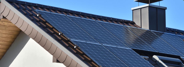 Photovoltaikanlage Banner