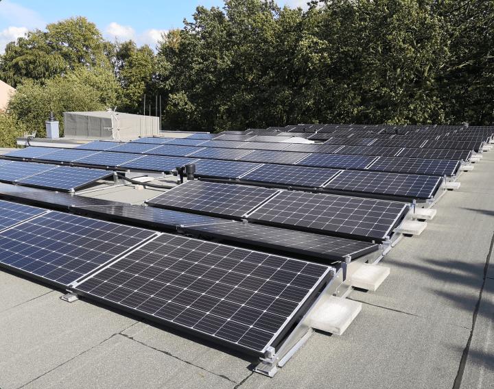 Photovoltaikanlage liegend