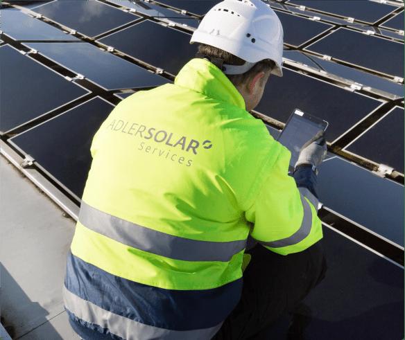 Photovoltaikanlage Messung