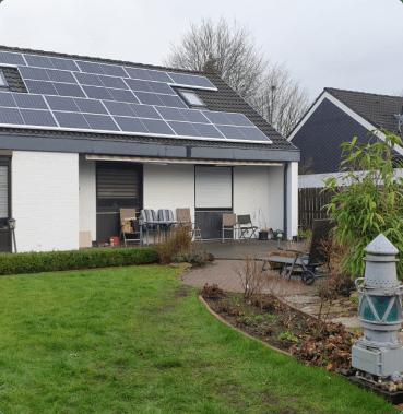 Einfamilienhaus PV-Anlage mit 7 kWp ohne Speicher
