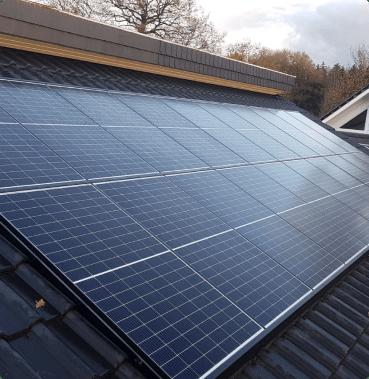 Einfamilienhaus PV-Anlage mit 6 kWp und Speicher