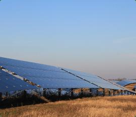 Solarenergie Module Landschaft