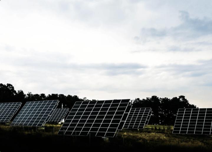 Solarstrom Wiese