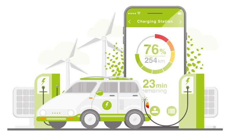 E-Mobility Elektroauto