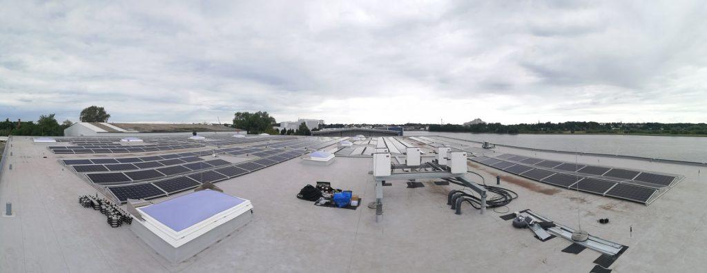 Procedes PV-Anlage auf dem Dach