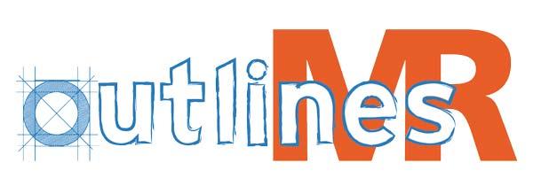 Logo outlines MR