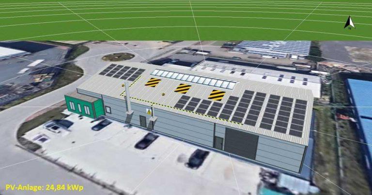 Tischlerei Wöhltjen PV-Anlage 25-kWp Planung mit PV-SOL
